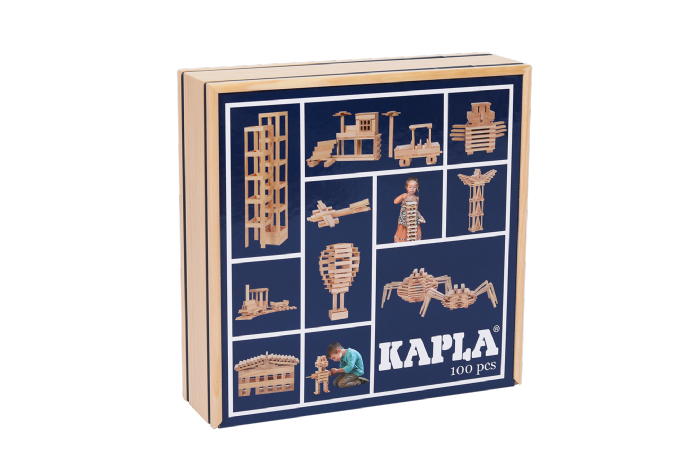 KAPLA 100 Plank Box construction game